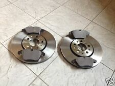 VOLVO XC 90 02--TWO FRONT VENTED BRAKE DISCS & BRAKE PADS 336 MM LH & RH