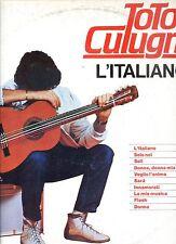 TOTO CUTUGNO lítaliano ITALY 1983 EX LP