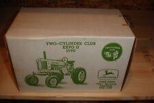 1/16 John Deere 720 Hi-Crop Tractor new in box - 2 Cyclinder Club Expo II 1990