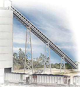 Walthers Cornerstone HO Scale Building/Structure Kit Modern Conveyor (3-Pack)