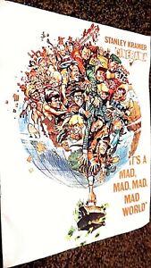 IT'S A MAD, MAD, MAD, MAD WORLD (1963) CINERAMA FILM MOVIE SOUVENIR BROCHURE