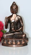 THAI BUDDHA Sitting Copper Metal  Blessing Statue For Home Decor Gift