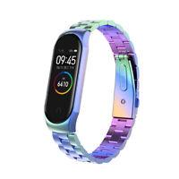 For Xiaomi Mi Band 4 Metal Smart Wrist Bracelet Stainless Steel Watch Band Strap