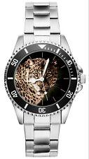 Leopard Geschenk Artikel Fan Uhr 20505