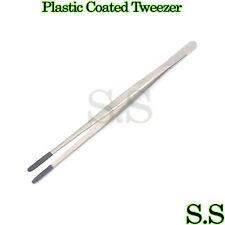 "Plastic Coated Tip Steam Tweezer 12"" Long Jewelers tool"