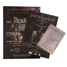 Paradise Lost-Poster Bundle - 3 affiches, dont un daté! très bien!