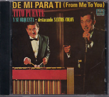 Salsa RARE CD FANIA First Pressing TITO PUENTE FEAT. SANTOS COLON de mi para ti