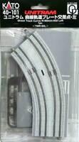 Kato 40-101 UniTram Rail Courbe Gauche / Curve Track Left R180mm 45° - N