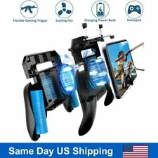 New Mobile Phone Game Controller Joystick Shooter PUBG L1R1 Cooling Fan Gamepad
