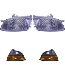 Headlights set Toyota Hiace manufactured 96-06 with Indicator y87