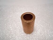 "Bronze Bushing 1/2"" ID x 3/4"" OD x 1-1/4"" Long Bronze Bearing Self Lubricating"