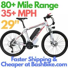 "Electric Bike 29"" 1000W 48V 17.5AH 35 MPH 80 Mile Range Mountain Bicycle Samsung"