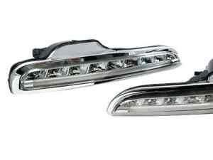 LED Daytime Running Light DRL for Porsche Boxster 987 Chrome 2004-2008