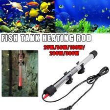 25-300 Watts Aquarium Fish Tank Water Heater Adjustable Thermostat G9L2