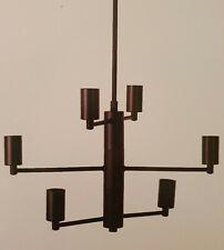 Kronleuchter 6flam. Sputnik schwarz Metall Industrial Hängelampe Lampe Leuchter