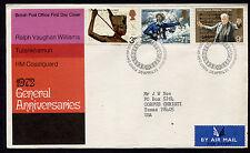 1972 Britain Edinburgh General Anniversaries Fdc