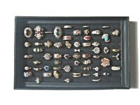 LOT OF 57 FASHION COCTAIL RINGS Gold Filled/Plated 10K/18K/24K Rose/Yellow Gold