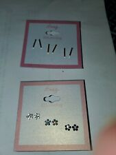 Lot Of 6 Sterling silver Earrings  New icing by Claire's