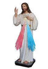 STATUE GESÙ' J'AI CONFIANCE EN TE cm.180 - Miséricordieux Jesus Le Trust vous