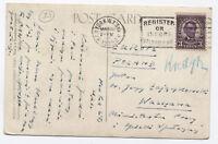 1932 3ct 4th bureau on postcard New York to Poland [y1738]