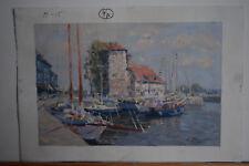 Russian oil canvas Impressionism Paris Landscape Demidov Alexander п-15