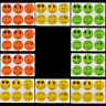 60PCS Mosquito Sticker Repellent Patch Smiling Face Protect Kids Baby NEW