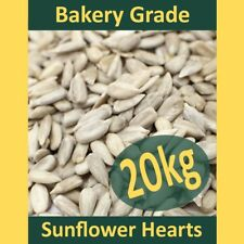20kg Sunflower Hearts Wild Bird Food PREMIUM BAKERY GRADE Dehulled Kernels Seeds