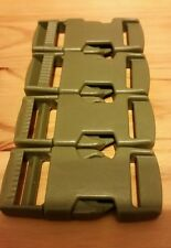 Fastex ITW 20mm Side release buckles - Pack of 4 Khaki
