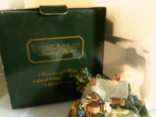 Thomas Kinkade Memories of Home Lighted cottage Everett'S Cottage Nib-Free Ship