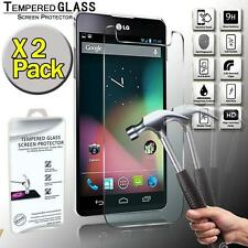 2 Pack Real Tempered Glass Screen Protector Cover For LG Nexus 4