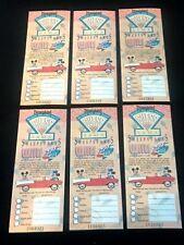 Disney Ephemera Disneyland Blast to the Past 1989 Sweepstakes Ticket Unredeemed