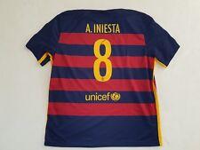 FC Barcelona Trikot Home 2015/16 Nike Größe XXL Iniesta 8 -NEU- Barca