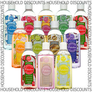 6 x Fabulosa Concentrated Disinfectant Clean Shine Home Choose Fragrance 220ml