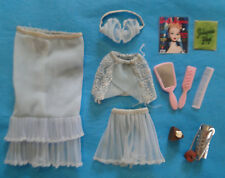 Vintage Barbie PAK 1960's BLUE Fashion Undergarments/Lingerie w/ Accessories