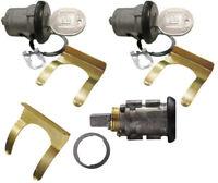 1987-1992 Pontiac Firebird GM OEM Black Doors/Trunk Lock Key Cylinder Set W/Keys