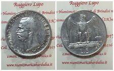 Regno d'Italia Vittorio Emanuele III 5 LIRE Aquilino 1930 q SPL / SPL