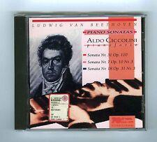 CD BEETHOVEN ALDO CICCOLINI PIANO SONATAS
