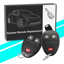 2 Keyless Entry Remote Car Key Fob for 2007 2008 2009 2010 CHEVROLET SILVERADO