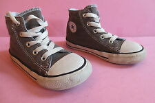 Converse All Star toile grise taille 25 (UK9) réf04 unisex