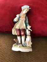 Vintage CLASSIC GALLERY COLLECTION C-6639 FIGURINE Boy With Dog