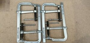 Bessey Germany GS20K Classix All Steel Screw Clamp Quad Pack 200/100 RRP£130.04