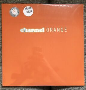 Channel Orange-Frank Ocean Limited Import on Orange Vinyl 2LP (see Description)