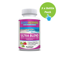 Ultra Blend, Garcinia Cambogia Weight Loss Supplement - 60 Caps x 3