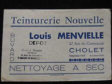 Buvard teinturerie Nouvelle Louis Mervielle commerce Cholet. collection pub