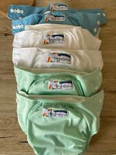 Reusable Modern Cloth Nappies MCN Hippybottomus - washed never used boy unisex
