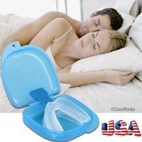 Anti Snore Stop Snoring Mouth Device Guard Good Sleep Aid No Apnea Silicon