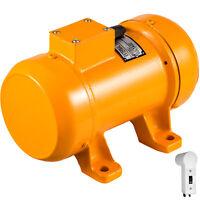 220V 0.25KW Concrete Vibrator Motor For Concrete Vibrator Table Tools AU