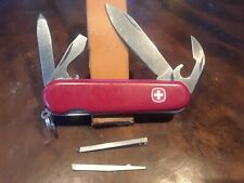 Wenger Highlander Swiss Army Knife, 85mm, Phillips, Red, Jelly Blue, Kelly Red
