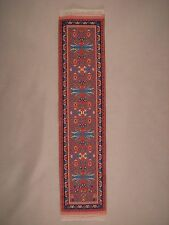 Persian Design Beautiful Woven Carpet Bookmark Dollhouse Runner Rug Decorative