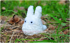 """My Neighbor Totoro 4"""" White Bean Filled Plush Toy Soft Doll For Kids Gift Hot"""